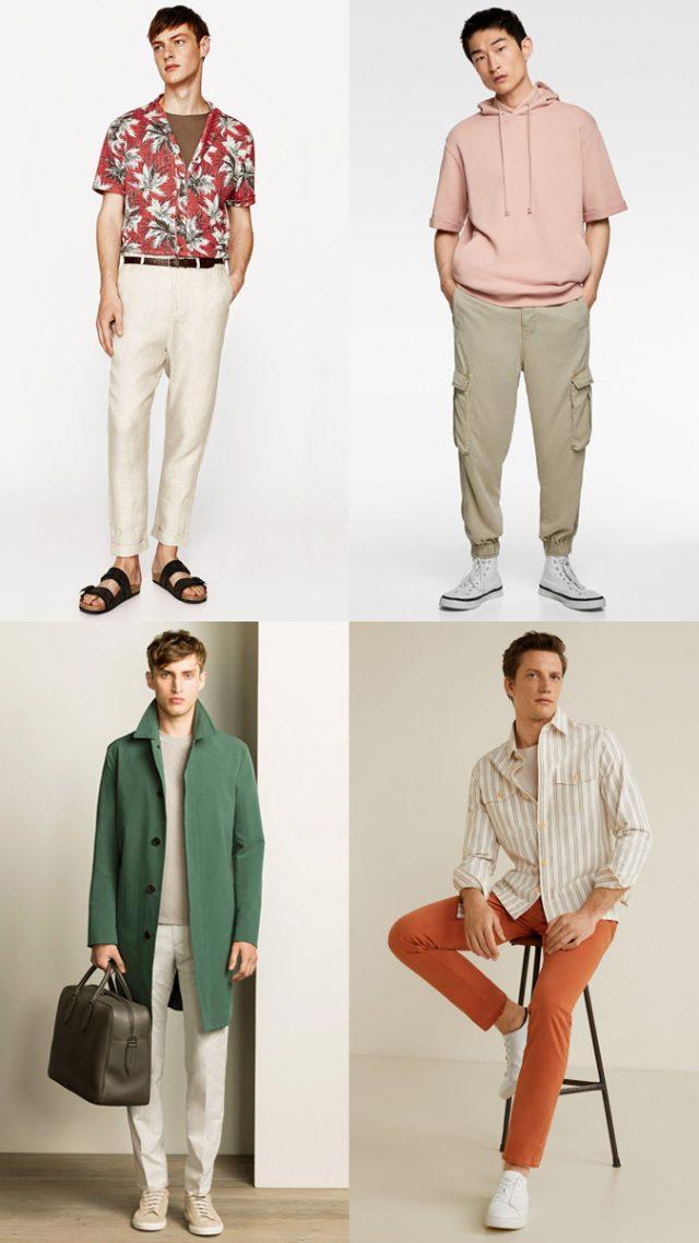 phối màu trung tính với các màu nóng hoặc màu lạnh cho trang phục.