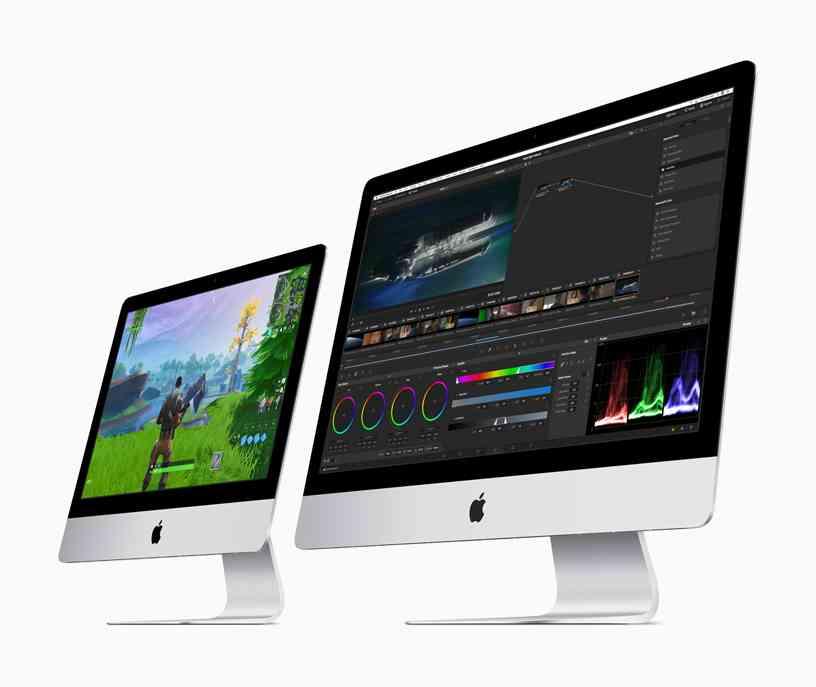 Máy tính bàn iMac 2019.
