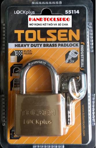 Ổ khóa chống trộm Tolsen. (Ảnh: vuidulich.vn)