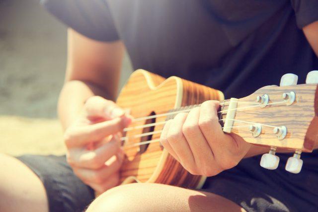 học ukulele tại nhà trong 14 ngày