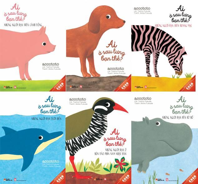 Các bạn nhỏ dưới 1 tuổi sẽ thích những cuốn sách có nhiều màu sắc, hình ảnh