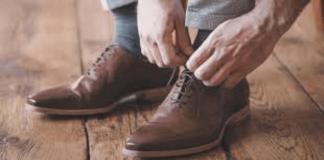 cách chọn giày da thật