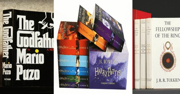 10 sách tiểu thuyết hay chuyển thể thành phim đáng đọc nhất