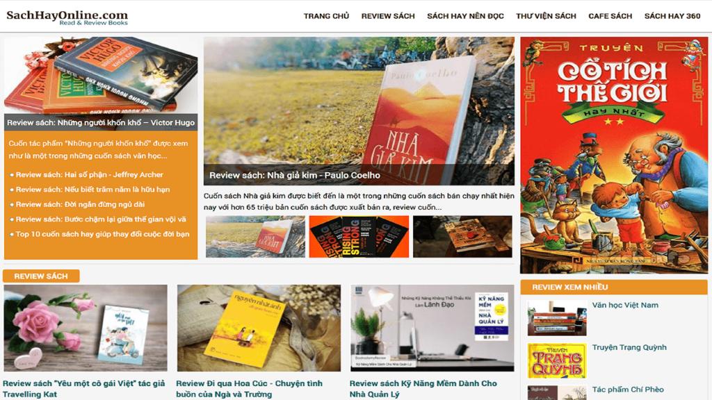 Sách hay online là một cộng đồng, một kho thư viện về sách trực tuyến