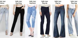 Các nàng đã biết cách chọn quần jean nữ đẹp chưa (Ảnh: aaajeans.com)