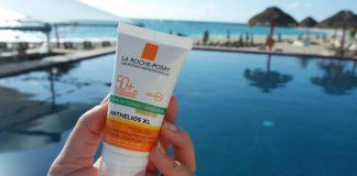 Các bạn da mụn có thể lựa chọn kem chống nắng la roche posay mà không phải lo về vấn đề da kích ứng(Ảnh: hazell.vn)
