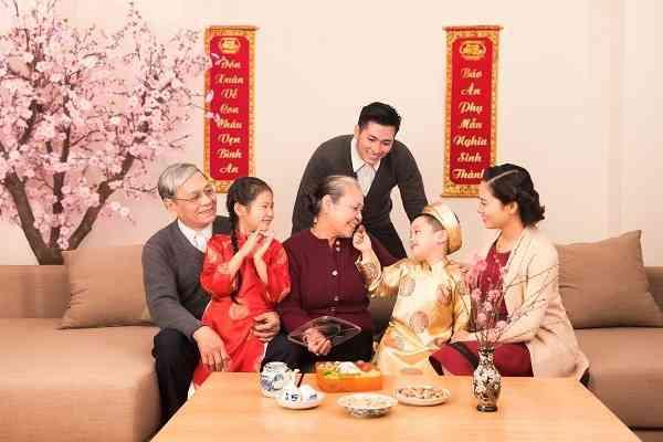 Tết Nguyên Đán là dịp để sum họp gia đình