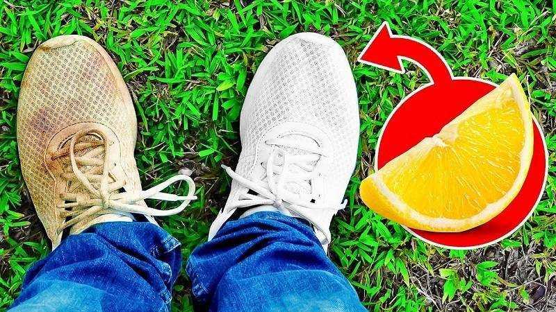 Mẹo giặt giày trắng bằng chanh được áp dụng vô cùng rộng rãi.