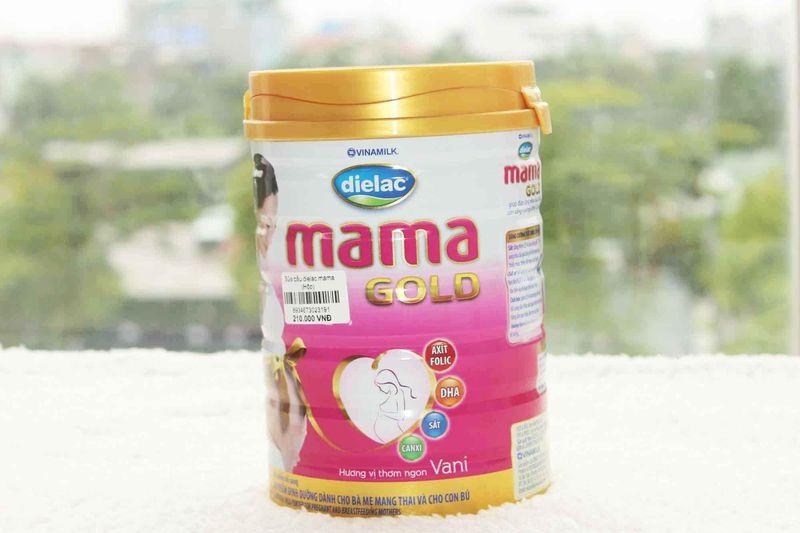Sữa bầu Dielac Mama - Sữa bầu chất lượng thương hiệu Việt.