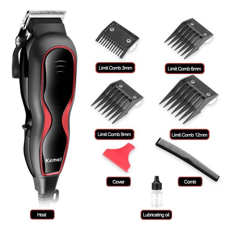 Tông đơ có dây loại nào tốt? - Tông đơ Kemei 1027 máy cắt tóc có dây tốt nhất hiện nay.