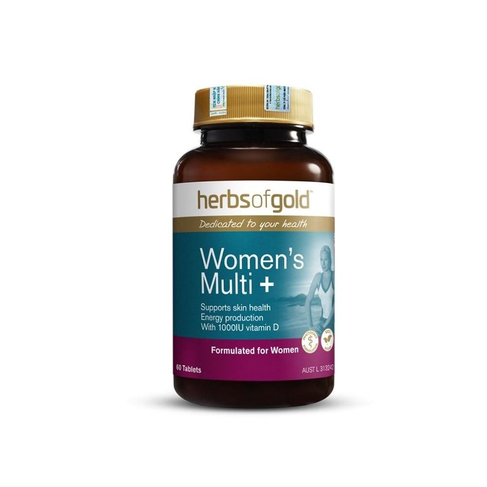 Herbs of Gold Women's Multi + uy tín và chất lượng.