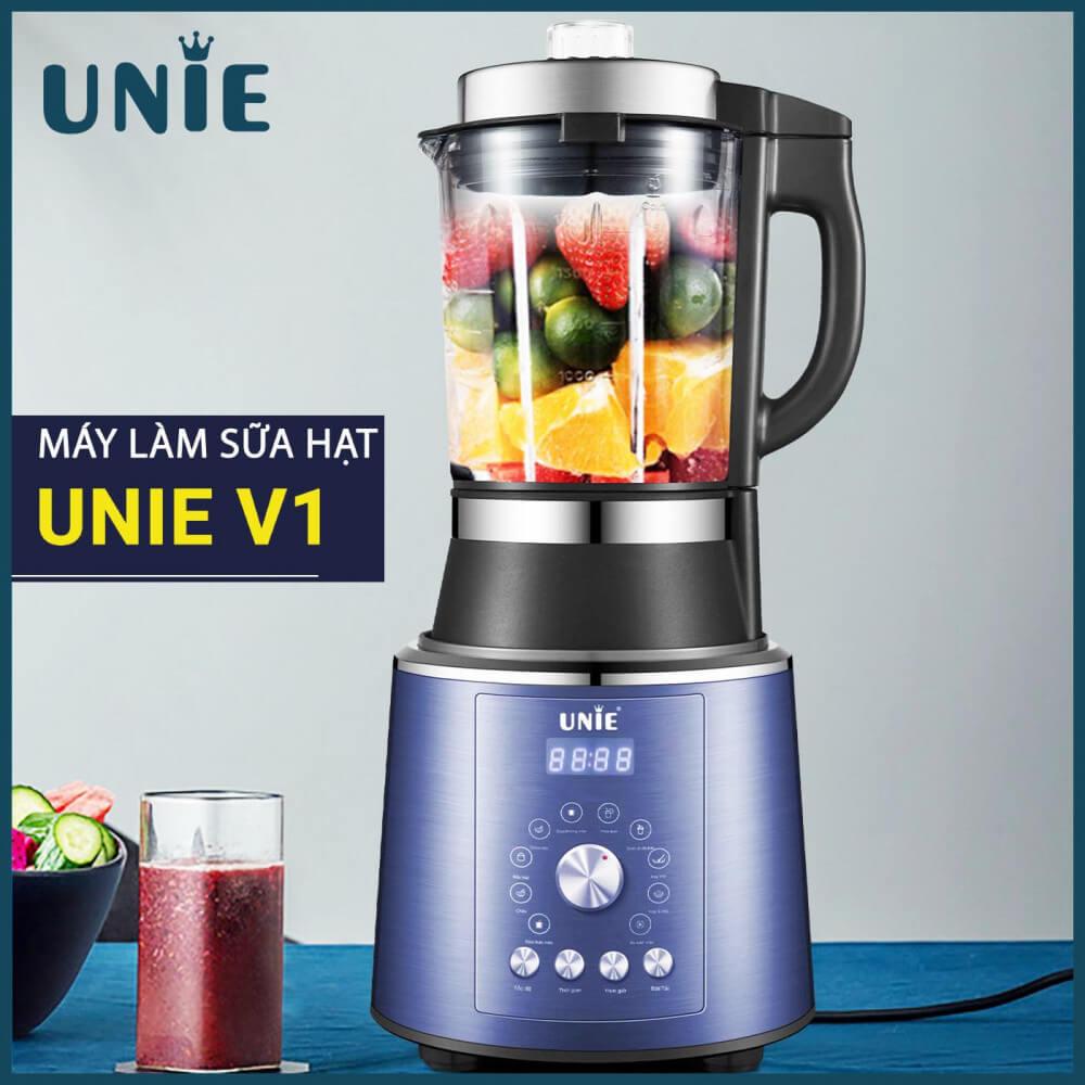 Máy làm sữa hạt Unie V1 là một sản phẩm được sản xuất từ công ty TNHH Unie Việt Nam