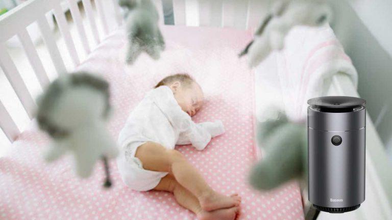 Có nên dùng máy phun sương trong phòng điều hòa cho bé không?