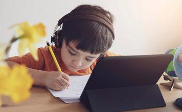 máy tính bảng học online