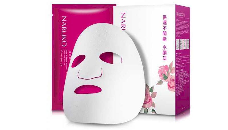 Naruko Rose - mặt nạ hoa hồng cho da khô