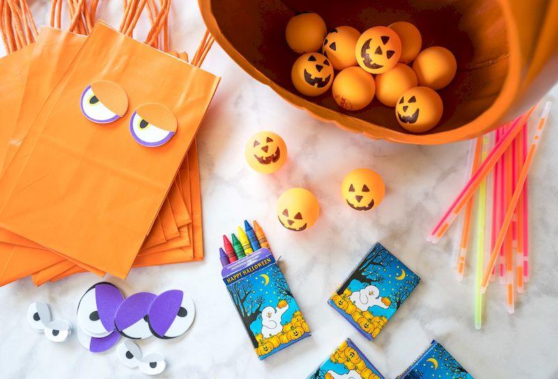 Tông màu được dùng nhiều cho đêm Halloween.