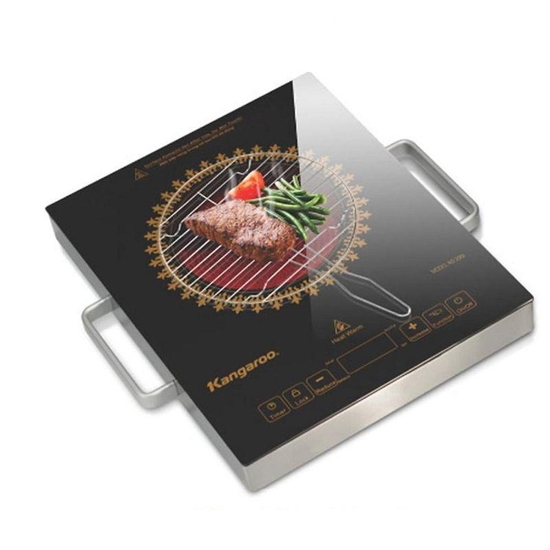 Hãy thử nướng thịt trực tiếp trên bếp hồng ngoại xem sao