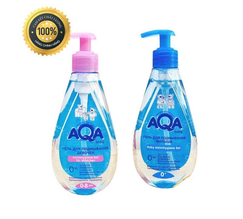 Aqua Baby sản phẩm phù hợp với làn da nhạy cảm của em bé sơ sinh