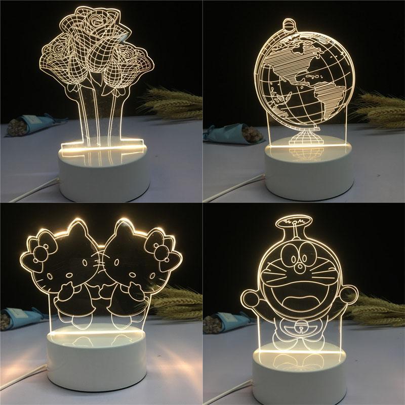 đèn ngủ hình thù đáng yêu