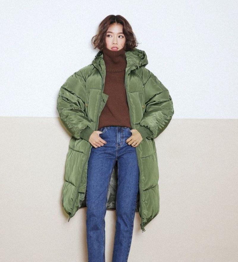 Áo phao nữ và áo len