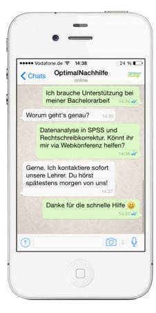 Whatsapp conversation