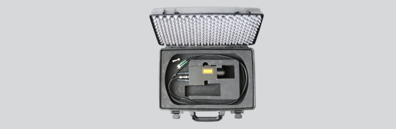 [Translate to Französisch:] Transport Case Autofocus Fiber Head