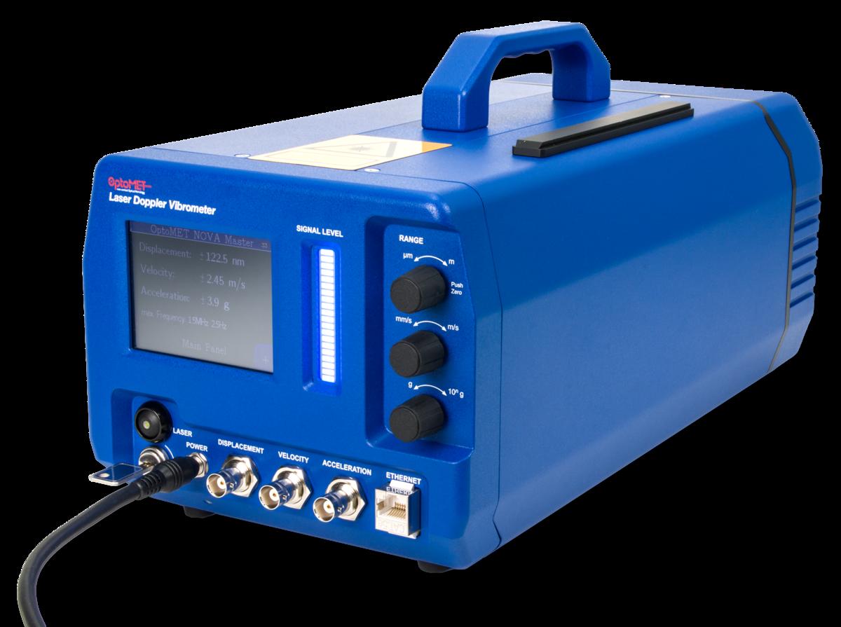 [Translate to Französisch:] Laser Vibrometer Controls