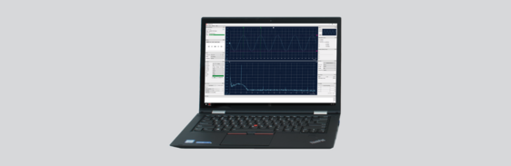 [Translate to Französisch:] Single Point Laser Vibrometer Analysis Software