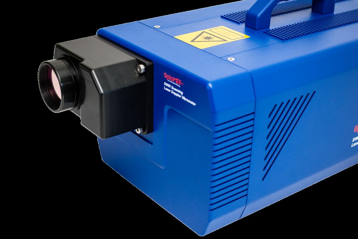 [Translate to Französisch:] Laser Vibrometer close-up unit