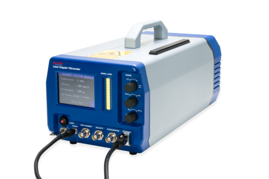 Laser Vibrometer Ethernet connection