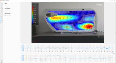 [Translate to Französisch:] Modal analysis surface vibration