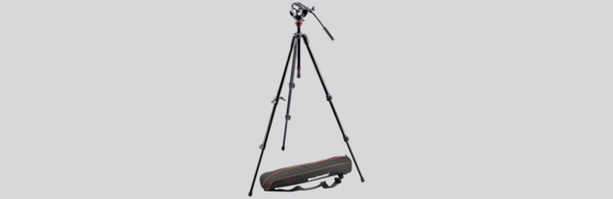 [Translate to Französisch:] Laser Vibrometer Tripod with Fluid Head