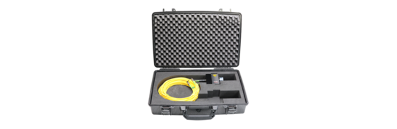 [Translate to Französisch:] Transport Case Manual Focus Fiber Head
