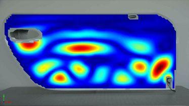 auto tür noise vibration harshness messen