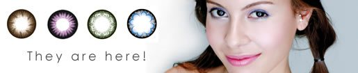 Neo Cosmo coloured Prescription contact lenses have arrived!