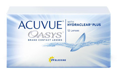 Acuvue Oasys Contact lenses - 12 lenses