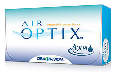 Air Optix Aqua Contact lenses - 3 lenses