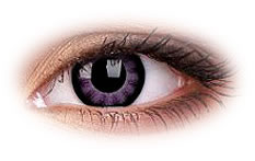 BigEyes Ultra Violet Contact Lenses