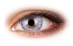 Cheerful Creamy White Contact Lenses