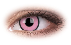 Hot Pink Contact Lenses