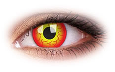 ColourVue Darth Maul Coloured Contact Lenses
