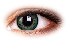 Soczewki Kontaktowe ColourVue Elegance Green