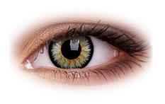 ColourVue Glamour Green Contact Lenses