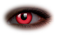 ColourVue Glow Red Contact Lenses