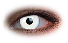 Glow White Contact Lenses