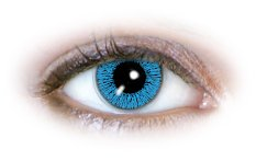 1 Tone Blue (N131) Contact Lenses
