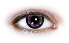 Neo Cosmo - Swirly Violet Contact Lenses (N503)