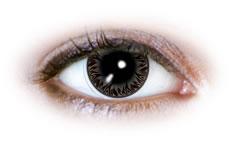 Silver Flames (N525) Contact Lenses