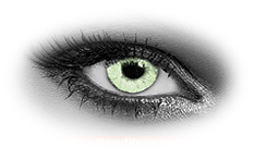 Queens Solitaire Light Green Contact Lenses