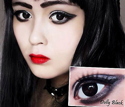 ColourVue Big Eyes Dolly Black